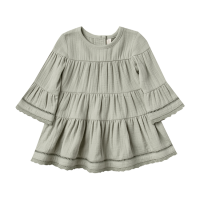 <b>QUINCY MAE</b><br>20aw Belle Dress<br>sage<img class='new_mark_img2' src='https://img.shop-pro.jp/img/new/icons1.gif' style='border:none;display:inline;margin:0px;padding:0px;width:auto;' />