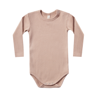 <b>QUINCY MAE</b><br>20aw Ribbed Longsleeve Onesie<br>petal<img class='new_mark_img2' src='https://img.shop-pro.jp/img/new/icons1.gif' style='border:none;display:inline;margin:0px;padding:0px;width:auto;' />