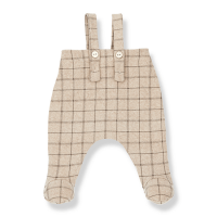 <b>1+in the family</b></br>20aw EDMOND overall w/feet<br>cream