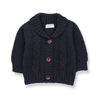 <b>1+in the family</b></br>20aw JUNGFRAU cardigan<br>blue notte