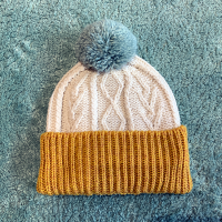 <b>ARAN WOOLLEN MILLS</b></br>20aw Knit cap<br>Yellow×White<img class='new_mark_img2' src='https://img.shop-pro.jp/img/new/icons1.gif' style='border:none;display:inline;margin:0px;padding:0px;width:auto;' />