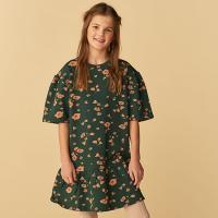 <b>soft gallery</b><br>20aw Elodie Dress<br>Pine Grove, AOP Flowery