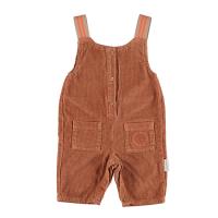 <b>piupiuchick</b></br>20aw Jumpsuit <br>caramel corduroy