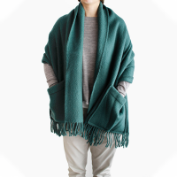 <b>LAPUAN KANKURIT</b><br>20aw UNI pocket shawl 60×170c<br>spruce green<img class='new_mark_img2' src='https://img.shop-pro.jp/img/new/icons1.gif' style='border:none;display:inline;margin:0px;padding:0px;width:auto;' />