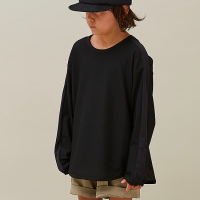 <b>MOUN TEN.</b></br>21ss honeycomb line longsleeve<br>black<img class='new_mark_img2' src='https://img.shop-pro.jp/img/new/icons1.gif' style='border:none;display:inline;margin:0px;padding:0px;width:auto;' />