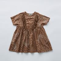 <b>eLfinFolk</b></br>21ss QiLin one piece dress<br>brown