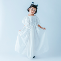 <b>nunuforme</b><br>21ss ギャザーワンピース<br>White<img class='new_mark_img2' src='https://img.shop-pro.jp/img/new/icons1.gif' style='border:none;display:inline;margin:0px;padding:0px;width:auto;' />