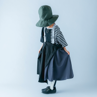 <b>nunuforme</b><br>21ss タックサロペットスカート<br>Black