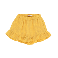 <b>【予約販売 3月1日以降入荷・発送予定】<br>tinycottons</b></br>21ss WAVES FRILLS SHORT<br>yellow/iris blue<img class='new_mark_img2' src='https://img.shop-pro.jp/img/new/icons1.gif' style='border:none;display:inline;margin:0px;padding:0px;width:auto;' />