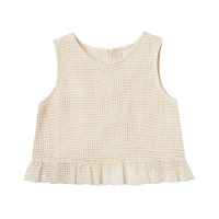 <b>Rylee+Cru</b><br>21ss leonie top<br>shell<img class='new_mark_img2' src='https://img.shop-pro.jp/img/new/icons1.gif' style='border:none;display:inline;margin:0px;padding:0px;width:auto;' />