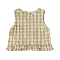 <b>Rylee+Cru</b><br>21ss gingham leonie top<br>butter<img class='new_mark_img2' src='https://img.shop-pro.jp/img/new/icons1.gif' style='border:none;display:inline;margin:0px;padding:0px;width:auto;' />