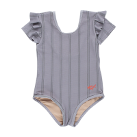 <b>tinycottons</b></br>21ss BETTER TOGETHER SWIMSUIT<br>summer grey/ink blue