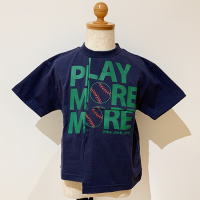 <b>THE PARK SHOP</b></br>21ss PLAY MORE TEE<br>Navy