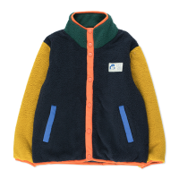 <b>tinycottons</b></br>21aw COLOR BLOCK POLAR JACKET<br>deep blue/honey<img class='new_mark_img2' src='https://img.shop-pro.jp/img/new/icons1.gif' style='border:none;display:inline;margin:0px;padding:0px;width:auto;' />