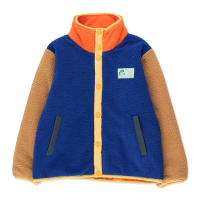 <b>tinycottons</b></br>21aw COLOR BLOCK POLAR JACKET<br>ultramarine/clay<img class='new_mark_img2' src='https://img.shop-pro.jp/img/new/icons1.gif' style='border:none;display:inline;margin:0px;padding:0px;width:auto;' />