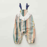 <b>eLfinFolk</b></br>21aw Crambon stripe rompers<br>pale pink<img class='new_mark_img2' src='https://img.shop-pro.jp/img/new/icons1.gif' style='border:none;display:inline;margin:0px;padding:0px;width:auto;' />