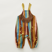 <b>eLfinFolk</b></br>21aw Crambon stripe rompers<br>brown<img class='new_mark_img2' src='https://img.shop-pro.jp/img/new/icons1.gif' style='border:none;display:inline;margin:0px;padding:0px;width:auto;' />