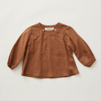 <b>eLfinFolk</b></br>21aw C/L washer baby blouse<br>brown<img class='new_mark_img2' src='https://img.shop-pro.jp/img/new/icons1.gif' style='border:none;display:inline;margin:0px;padding:0px;width:auto;' />