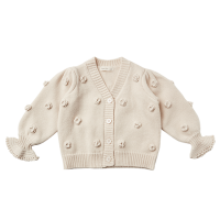 <b>Rylee+Cru</b><br>21aw FLOUNCE CARDIGAN / STONE<br>STONE<img class='new_mark_img2' src='https://img.shop-pro.jp/img/new/icons1.gif' style='border:none;display:inline;margin:0px;padding:0px;width:auto;' />