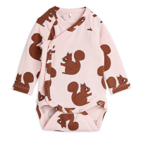 <b>mini rodini</b><br>21aw Squirrels aop wrap body<br>Pink<img class='new_mark_img2' src='https://img.shop-pro.jp/img/new/icons1.gif' style='border:none;display:inline;margin:0px;padding:0px;width:auto;' />
