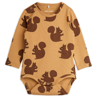 <b>mini rodini</b><br>21aw Squirrels aop ls body<br>Brown<img class='new_mark_img2' src='https://img.shop-pro.jp/img/new/icons1.gif' style='border:none;display:inline;margin:0px;padding:0px;width:auto;' />