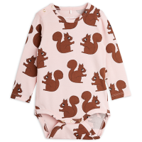 <b>mini rodini</b><br>21aw Squirrels aop ls body<br>Pink<img class='new_mark_img2' src='https://img.shop-pro.jp/img/new/icons1.gif' style='border:none;display:inline;margin:0px;padding:0px;width:auto;' />
