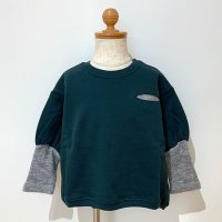 <b>6vocaLe</b></br>21aw バルーンスリーブママリア<br>DEEP GREEN<img class='new_mark_img2' src='https://img.shop-pro.jp/img/new/icons1.gif' style='border:none;display:inline;margin:0px;padding:0px;width:auto;' />