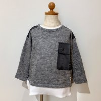 <b>6vocaLe</b></br>21aw ローゲージレイヤードTシャツ<br>GRAY<img class='new_mark_img2' src='https://img.shop-pro.jp/img/new/icons1.gif' style='border:none;display:inline;margin:0px;padding:0px;width:auto;' />