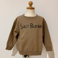 <b>SALT BLEND</b></br>21aw フィグーラLOGOクルー<br>COCOA<img class='new_mark_img2' src='https://img.shop-pro.jp/img/new/icons1.gif' style='border:none;display:inline;margin:0px;padding:0px;width:auto;' />