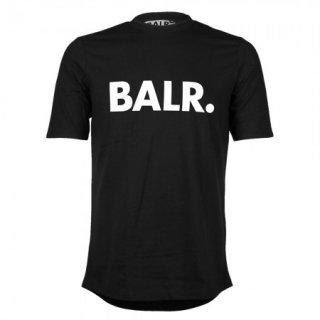 新作 日本未入荷  BALR. ボーラー Brand ブランド ロゴ Tシャツ 黒 サッカー ラグジュアリー スポーツ  関税込 入手困難 ロナウド ベッカム
