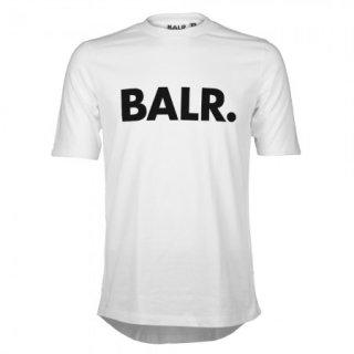 新作 日本未入荷  BALR. ボーラー Brand ロゴ Tシャツ ホワイト サッカー ラグジュアリー スポーツ  関税込 入手困難 ロナウド ベッカム