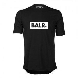 新作 日本未入荷  BALR. ボーラー Club  ロゴ  Tシャツ ブラック サッカー ラグジュアリー スポーツ  関税込 入手困難 ロナウド ベッカム