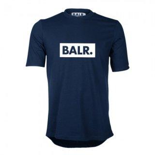 新作 日本未入荷  BALR. ボーラー Club  ロゴ  Tシャツ ネイビー サッカー ラグジュアリー スポーツ  関税込 入手困難 ロナウド ベッカム