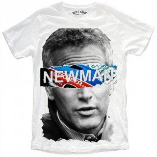 日本未入荷 イタリア発 MY T-SHIRT  Tシャツ NEWMAN STRIPES ポールニューマン フォト パロディー プリント 関税込 セレブ愛用 LEON