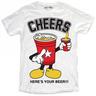 日本未入荷 イタリア発 MY T-SHIRT  Tシャツ CHEERS チーズ ミッキー  ロゴ フォト パロディー プリント 関税込 セレブ愛用 LEON