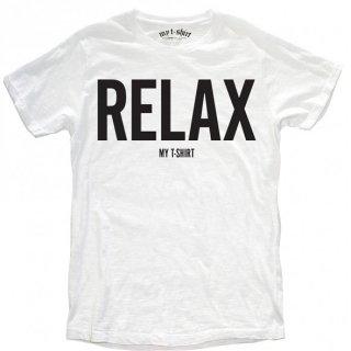 日本未入荷 イタリア発 MY T-SHIRT  Tシャツ RELAX  ロゴ フォト パロディー プリント 関税込 セレブ愛用 LEON