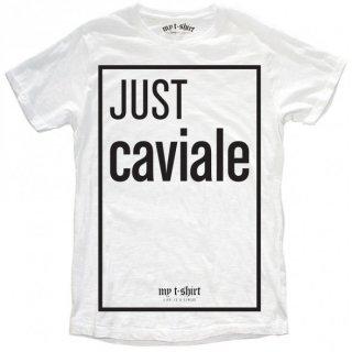 日本未入荷 イタリア発 MY T-SHIRT  Tシャツ JUST CAVIALE ジャストカヴァリ ロゴ フォト パロディー プリント 関税込 セレブ愛用 LEON