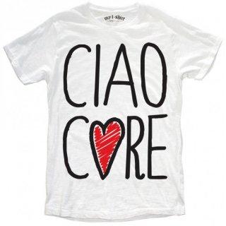 日本未入荷 イタリア発 MY T-SHIRT  Tシャツ CIAO CORE メッセージ ロゴ フォト パロディー プリント 関税込 セレブ愛用 LEON