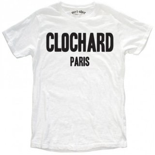 日本未入荷 イタリア発 MY T-SHIRT  Tシャツ CLOCHARD メッセージ ロゴ フォト パロディー プリント 関税込 セレブ愛用 LEON