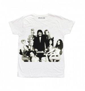 日本未入荷 イタリア発 BFLAK Tシャツ GIRLS  ガールズ  スメイラ  ロゴ フォト パロディー プリント  関税込 モデル セレブ愛用