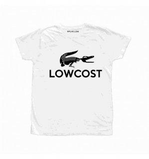 日本未入荷 イタリア発 BFLAK Tシャツ LOWCOST  ラコステ ロゴ フォト パロディー プリント  関税込 モデル セレブ愛用