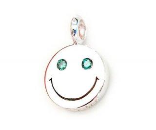 EYEME  Blue Eyes smile Pendant Head Diamond/SILVER925