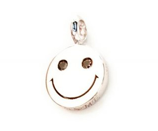 EYEME  Black Eyes smile Pendant Head Diamond/SILVER925