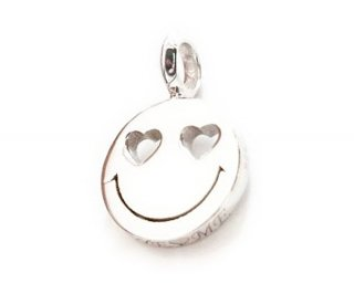 EYEME  Heart Eyes smile Pendant Head Diamond/SILVER925