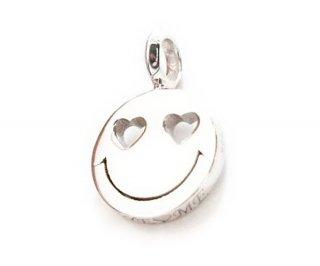 EYEME  Heart Eyes smile Pendant Head Diamond/SILVER925