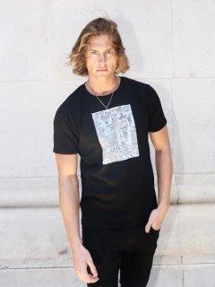 XRISTOFFER クライストファー FAITH1 BLK T-SHIRTS ARTIST LINE フェース アーティストライン Tシャツ ブラック
