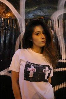 XRISTOFFER クライストファー WC1 WHITE T-SHIRTS ARTIST LINE ダブルクロス アーティストライン Tシャツ ホワイト