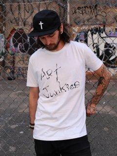 Xristoffer クライストファー ART JUNKIES WHT T-SHIRTS アートジャンキー メッセージ ロゴ Tシャツ ホワイト