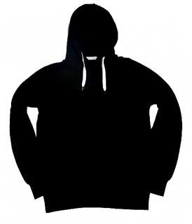 XRISTOFFER クライストファー BANKS (MUJI) WITH XRISTOFFER BLK HOODY ロゴ オリジナル  フーディー パーカー ブラック