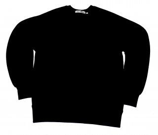 XRISTOFFER クライストファー BBANKS (MUJI) WITH XRISTOFFER BLK SWEAT ロゴ オリジナル  スウェット ブラック